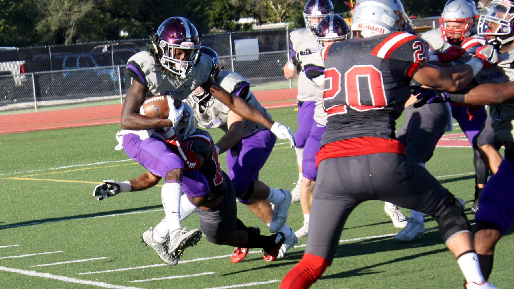 Fourth Quarter Miscues Doom Football in 20-13 Rivalry Loss at Friends