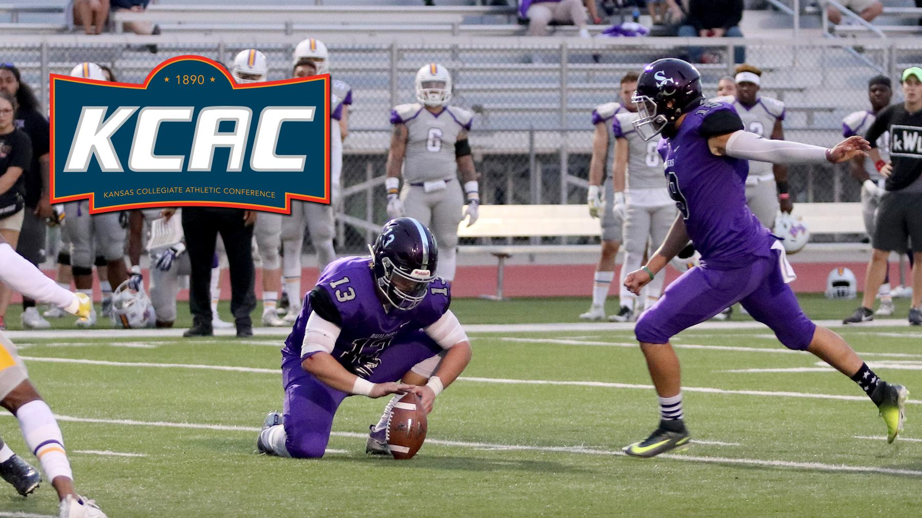 Mario Esparza Claims Second KCAC Special Teams Player of the Week Honor