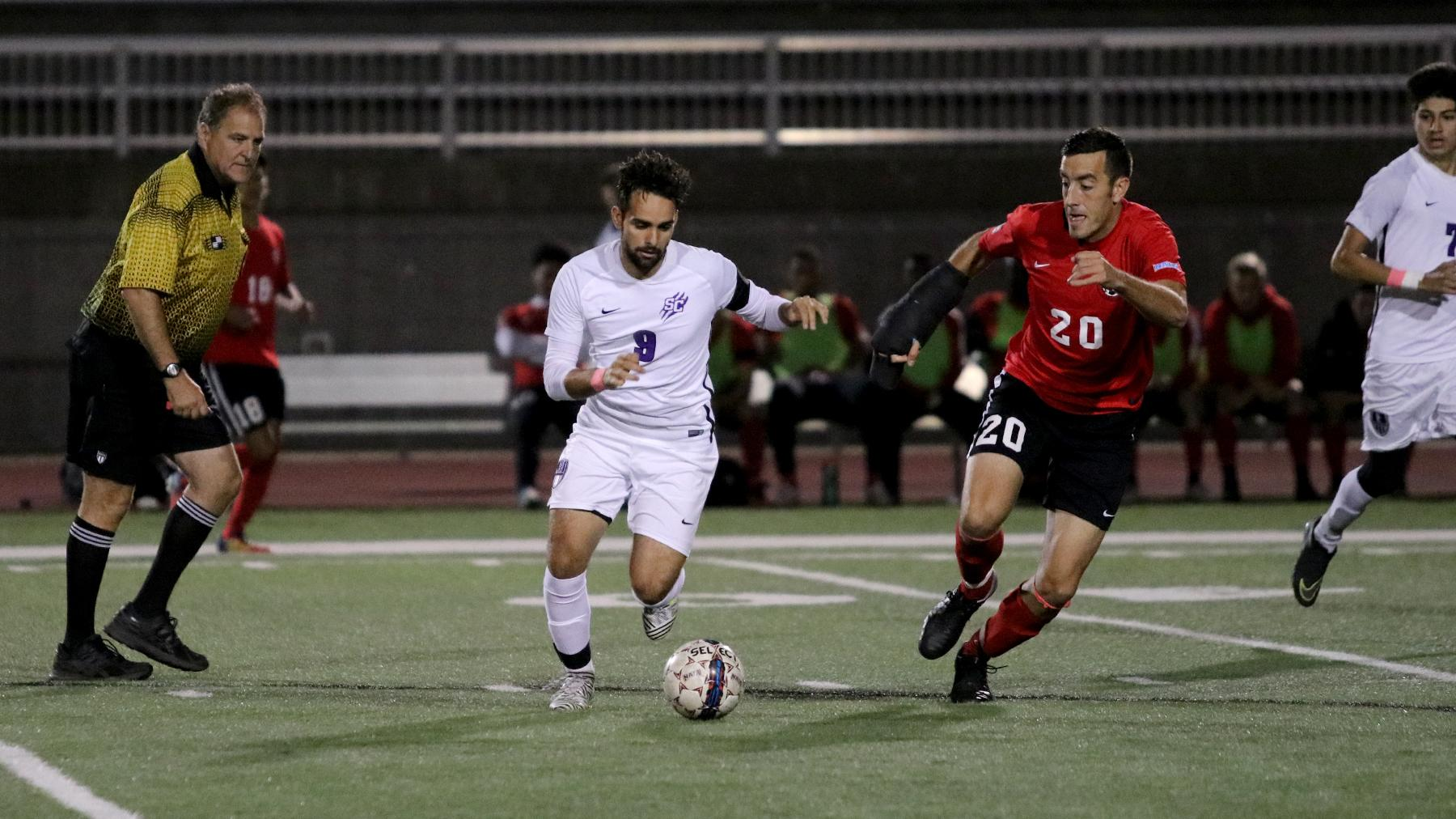 Men's Soccer Drops 3-0 Decision to McPherson