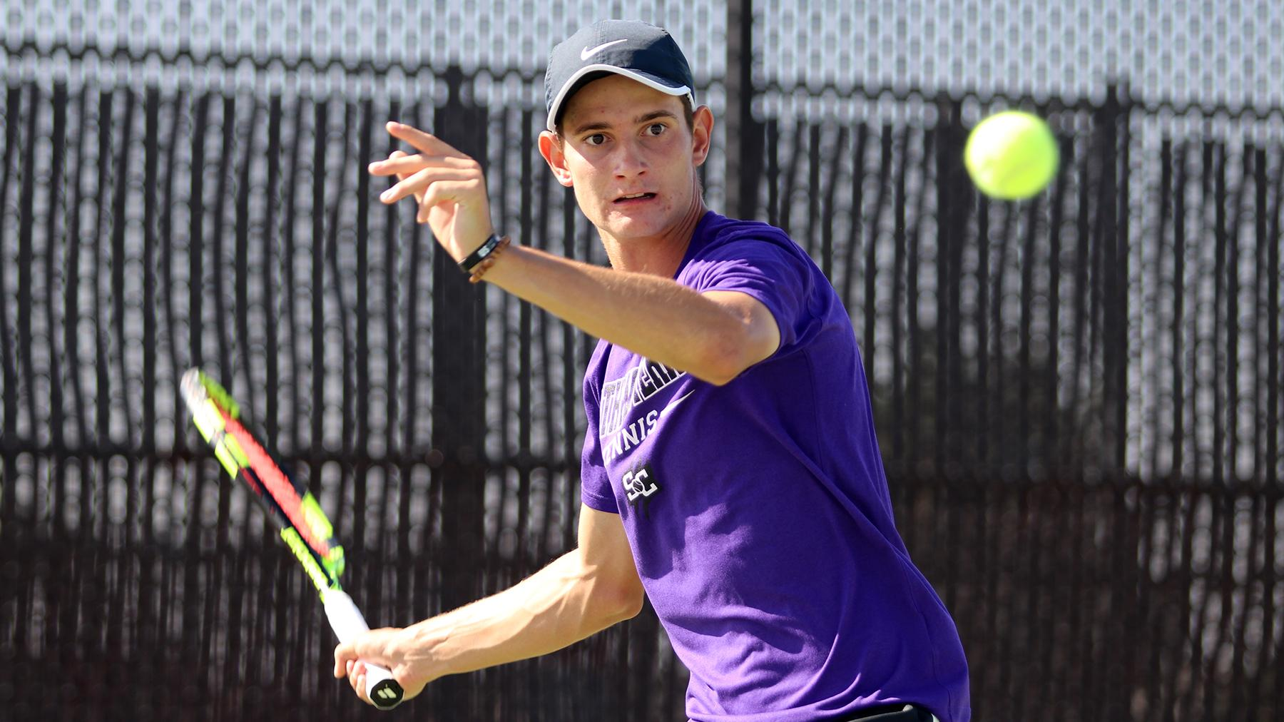 Franco Poi Advances to Singles Round of 16 at ITA Regional Championships