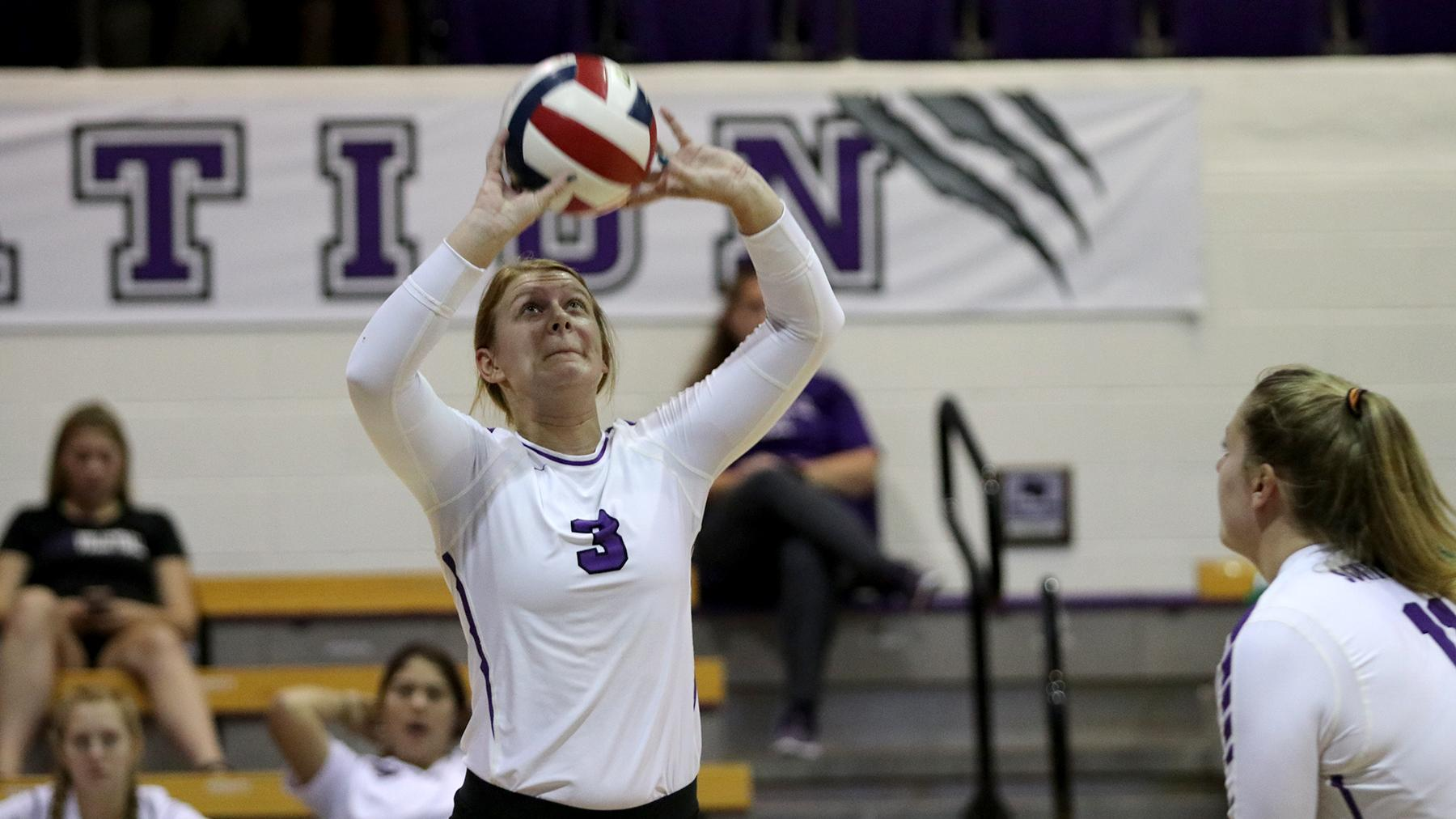 Volleyball Stumbles at McPherson, 3-0