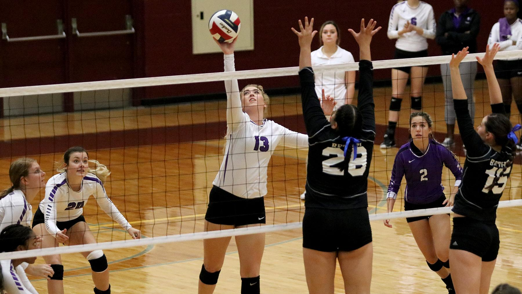 Volleyball Drops Final Road Contest at Bethel, 3-0