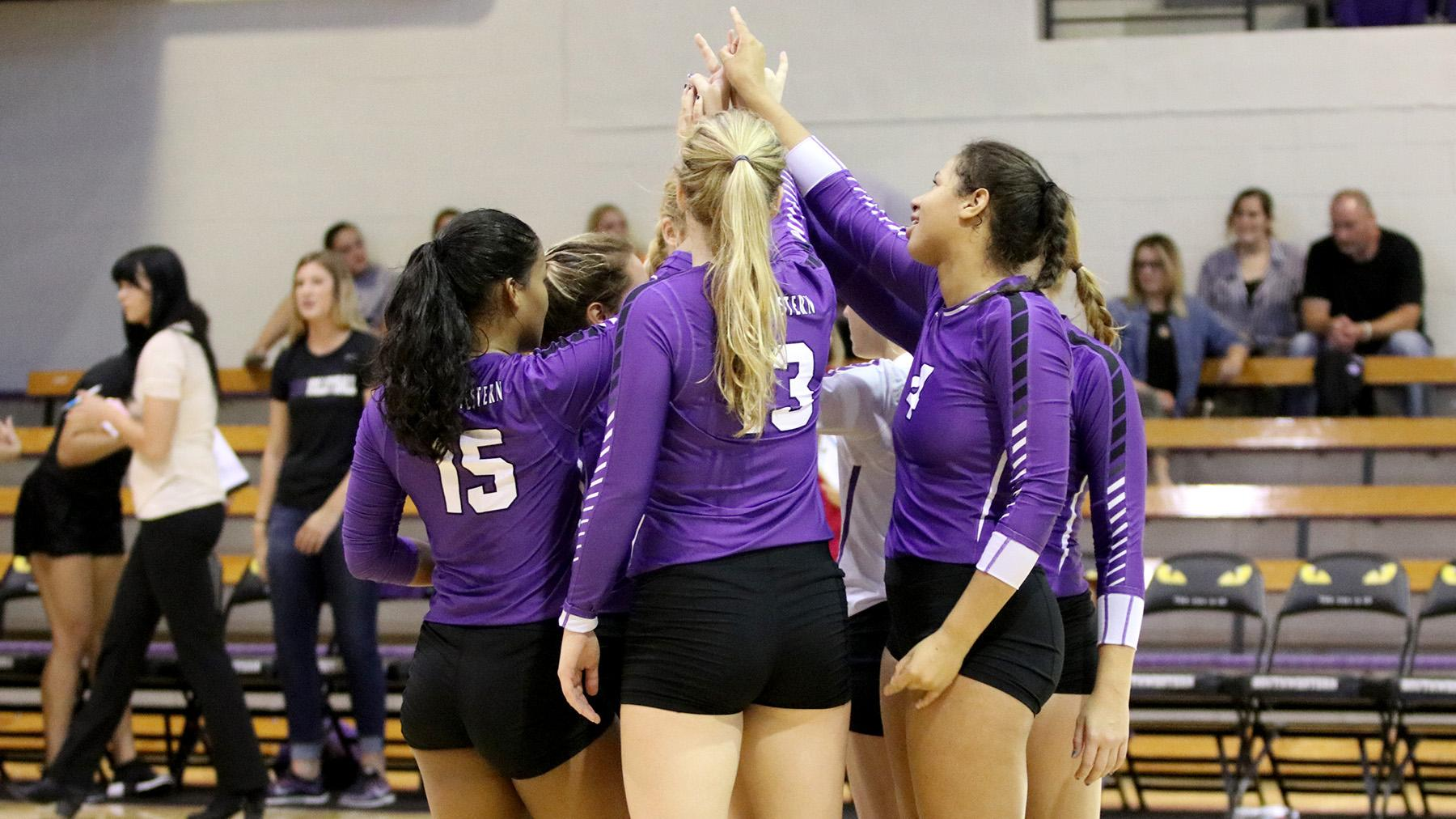 Volleyball Drops Two on KCAC Fall Fling Opening Day